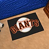 "MLB Novelty All-Star Mat MLB Team: San Francisco Giants, Size: 1'8"" x 2'6"""