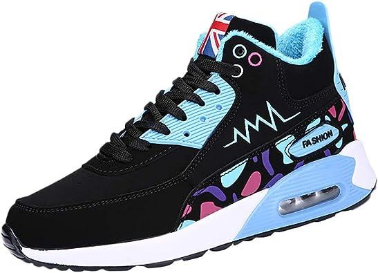 Zapatillas Deportivas Moda Mujer Running,Zapatillas Altas De AlgodóN para Mujer: Amazon.es: Zapatos y complementos