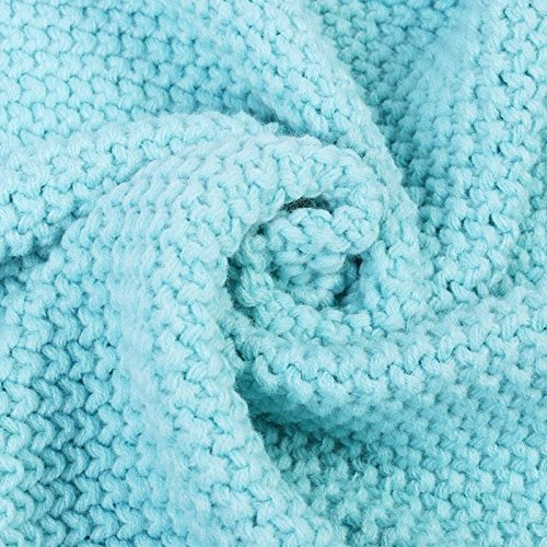 Sui Warm and Soft All Seasons Mermaid Blanket Sofa Quilt Living Room Blanket for Adult / Kids (Medium , 180*80CM) (Blue2)