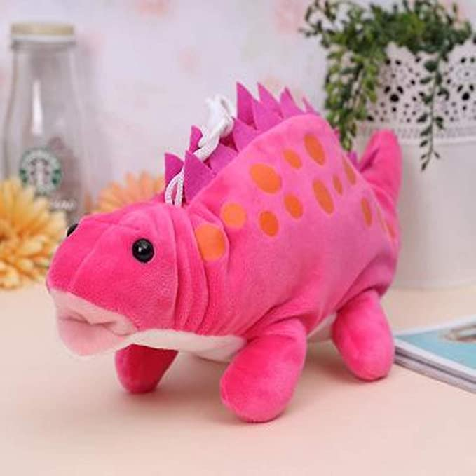 Amazon.com: Jewh Funny Dinosaur Plush Dragon Zero Creative Cartoon Funny Dinosaur Plush Toy Dragon Zero Case Stationery Pencil Bag Stuffed Toy (B): Toys & ...