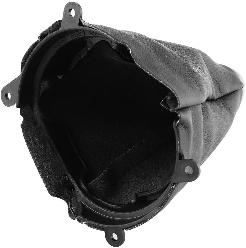 Suuonee car shifting dust cover Car Manual PU Leather Gear Gaiter Shift Shifter Boot Replacement for 2006-2012