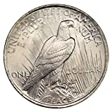 1922-1925 U.S. Peace Silver Dollar Coin, Mint State