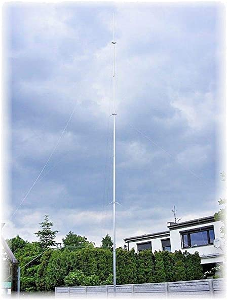 Radio Mast Radio Torre Antena Antena Antena Torre Telescópica ...