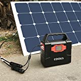 COOLIS Solar Panel Connector Adapter Cable MC4 to DC 3.5mm x 1.35mm