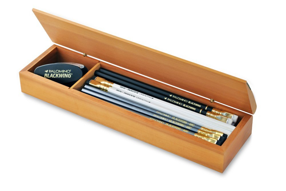 Blackwing Wood Box Gift Set (Mixed Pencils)