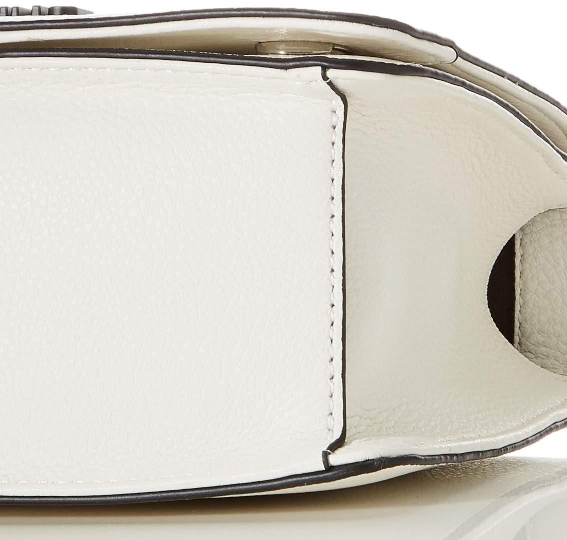 Love Moschino dam Jc4066pp1a handväska, 8 x 15 x 23 centimeter Vit (Bianco)