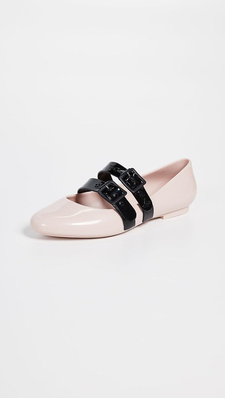 Melissa Women's Flats x Vivienne Westwood Doll Flats Women's B07BH3YF7W 6 B(M) US|Pink/Black 77b125