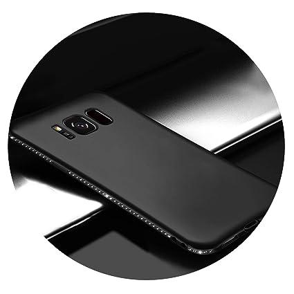 Amazon.com: Funda de lujo para Samsung Galaxy S7 Edge S8 S9 ...