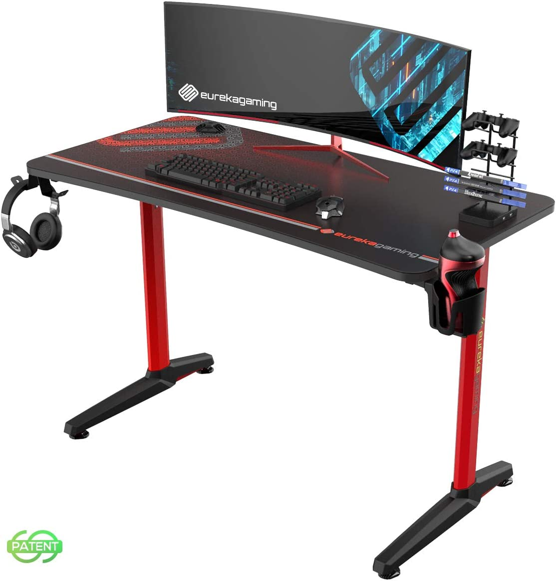 EUREKA ERGONOMIC Gaming Desk 47