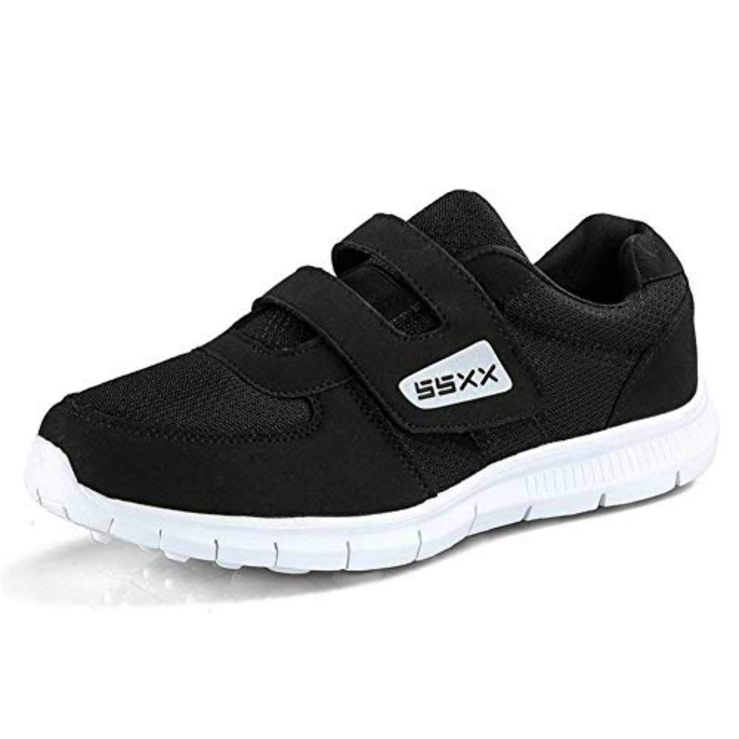 7c28a186b Amazon.com | Fires Men's Casual Sneakers Lightweight Athletic Elderly Slip  On Walking Shoes | Fashion Sneakers