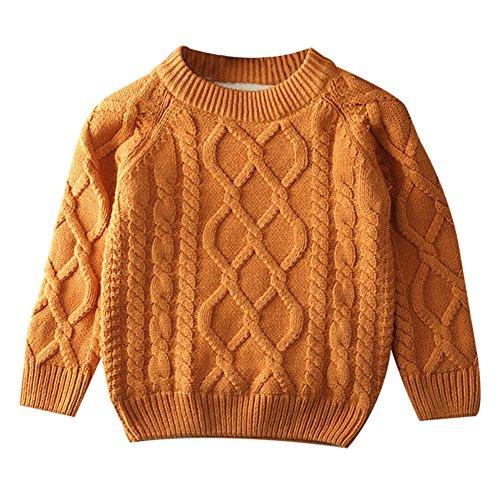 Fruitsunchen Toddler Boys Girls Button-up Knit Cotton Cardigan Sweater