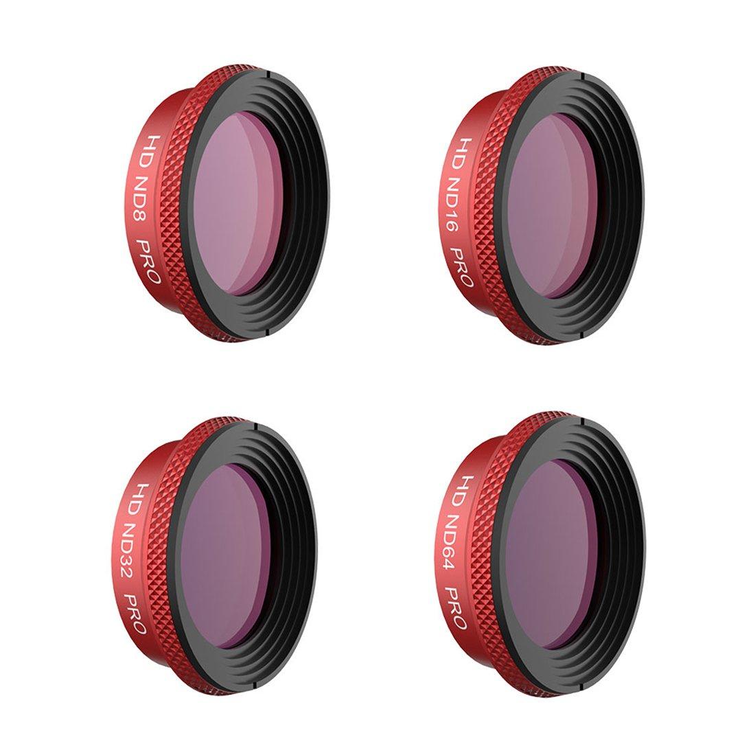 LoKauf PGYTECH 4St. Filters Set ND8 ND16 ND32 ND64 Drohnenfilter Zubehör für DJI Mavic Air - Professionelle Ausgabe
