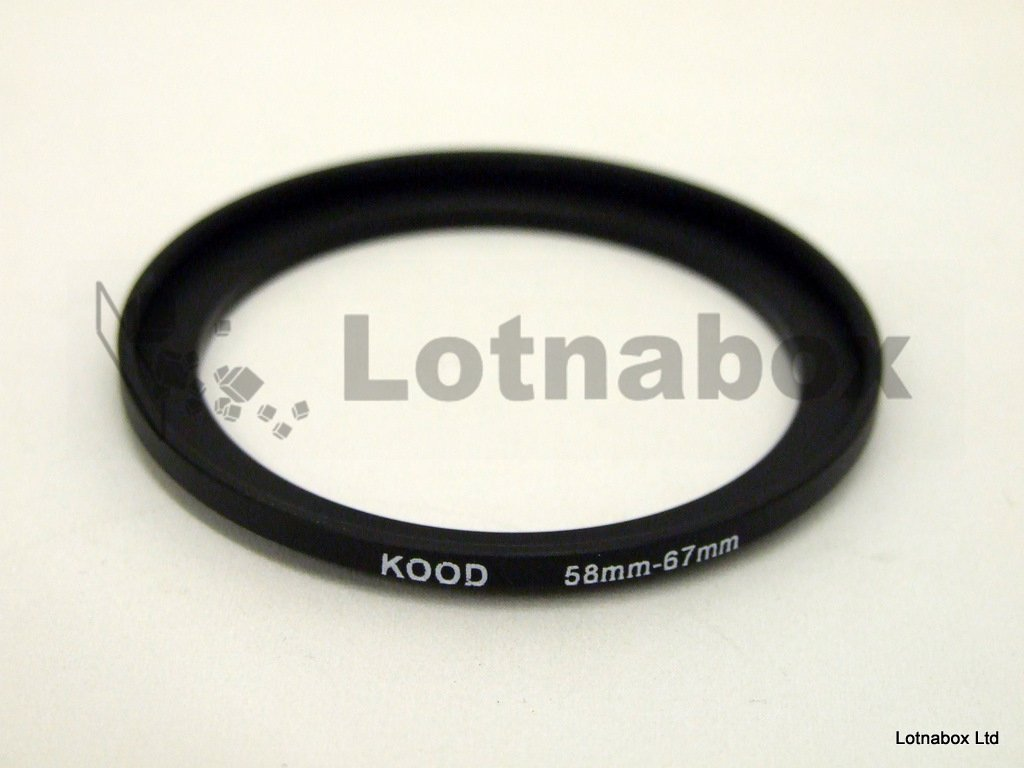 58mm TO 67mm STEP UP RING
