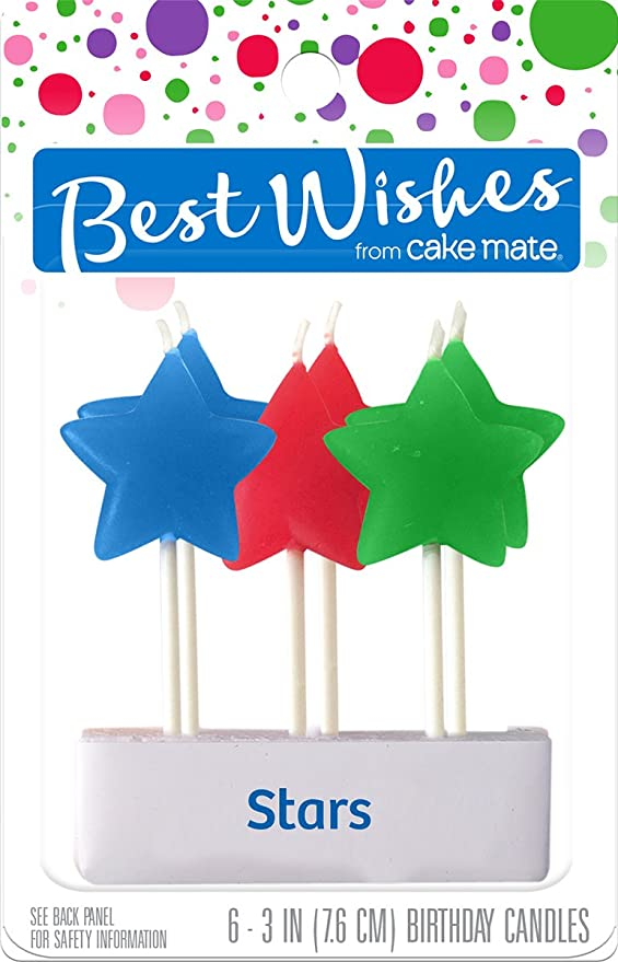 Cake Mate Signature Brands Best Wishes by Velas de ...