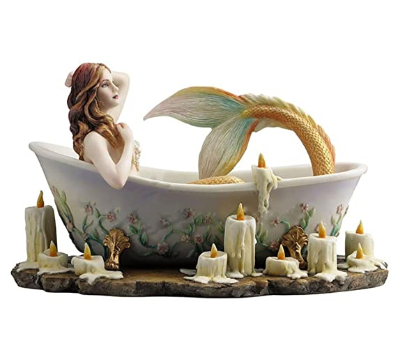 8.5 BATHTIME By Selina Fenech Mermaid Fantasy Nautical Decor Statue Sculpture