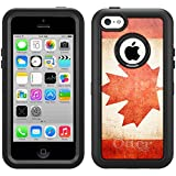 Skin Decal for Otterbox Defender iPhone 5C Case - Canada Vintage Flag