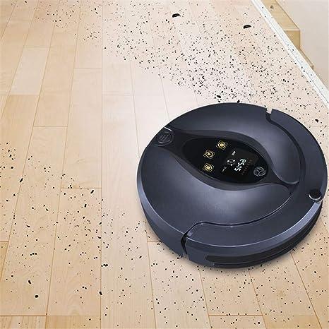 E-KIA Aspiradora Robot Aspirador,SuccióN De Potencia De Modo MáX. Y 2 Modos De Limpieza Especializados para Peinados De Mascotas, Alfombras Finas Y Pisos ...