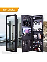 space save jewelry cabinet mirror built in lockable jewelry armoire with mirror jewelry