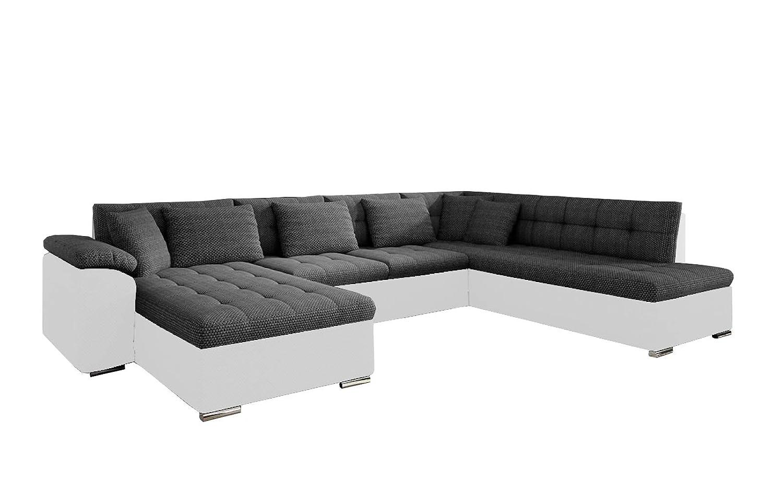 Amazon.com: U-Shaped Modern Fold Out Bed Sectional Sofa ...