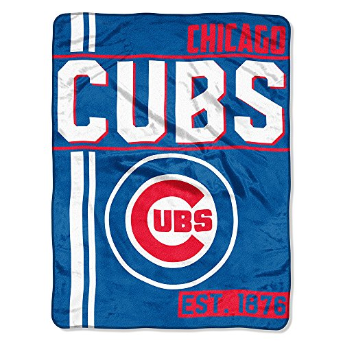 MLB Chicago Cubs Super Plush Throw Blanket (D132)