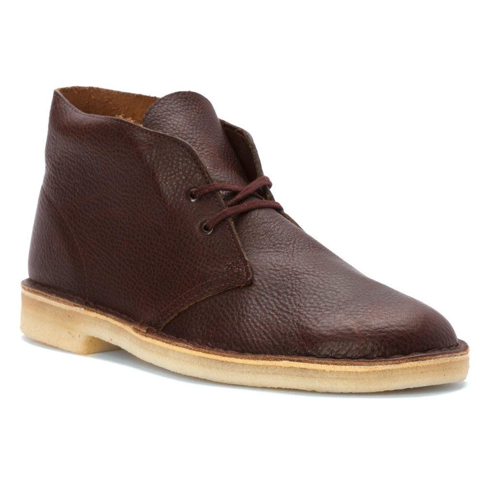 Rust Leather Clarks - - Herren Desert Stiefel