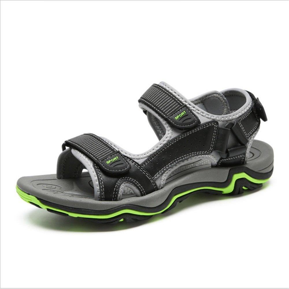 Zapatillas Sandalia para Hombre, Deportes Al Aire Libre, Sandalias Antideslizantes Y Sandalia Transpirable Ocio (24.0-27.5) CM Zapatos de Playa 42 EU Gris