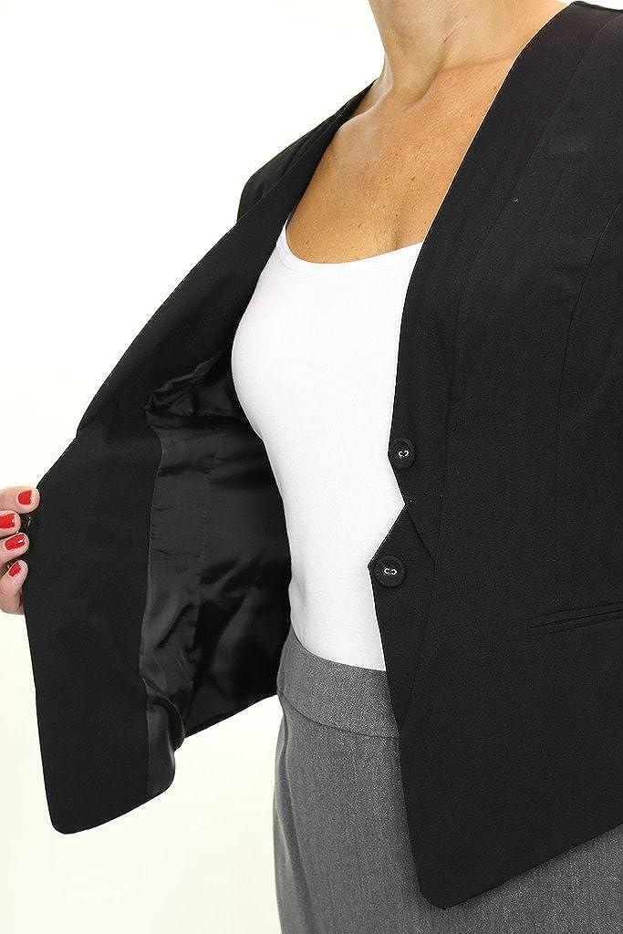 ICE 5135-1 Le Donne della Gilet Elegante Ufficio o la Sera Nero