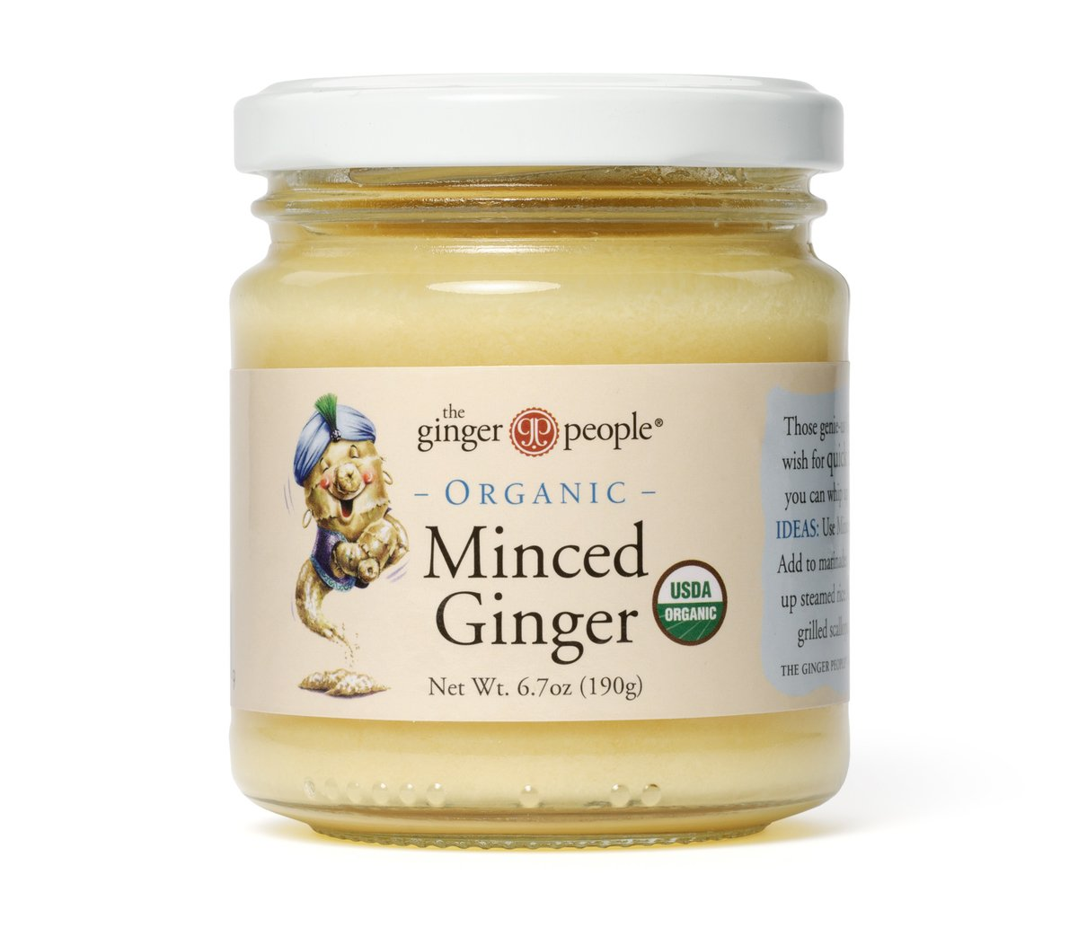 The Ginger People Organic Minced Ginger, 6.7000-ounces (Pack of 12)