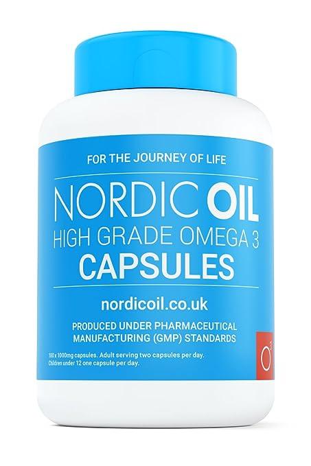 Omega 3 - Aceite de Pescado - 1000 mg - 180 Cápsulas