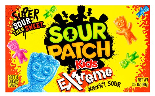 Sour Patch Kids Extreme Sour Soft & Chewy Candy 3.5OZ(99g)