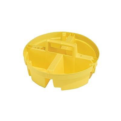 Bucket Boss Bucket Stacker Small Parts Tray in Yellow, 15051: Home Improvement
