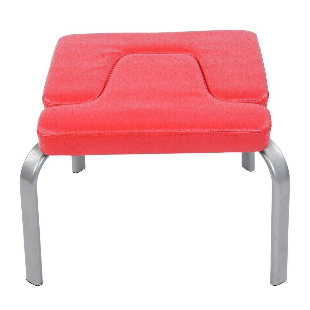 Yoga Stand Bench - Standing Yoga Chair Inverted Chair Family, Gym(Red) size36.5cm/14.37in44cm/17.32in43cm/16.92in/US Send Goods