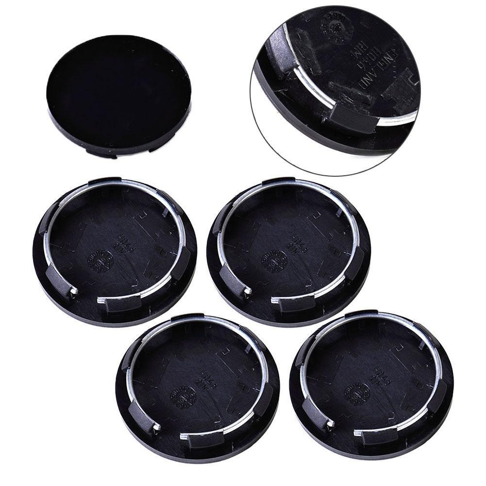 ZHUOTOP Lot de 4 cache-moyeux universels pour centre de roue 50 mm Bouchons pour enjoliveurs, pneus et garniture de voiture