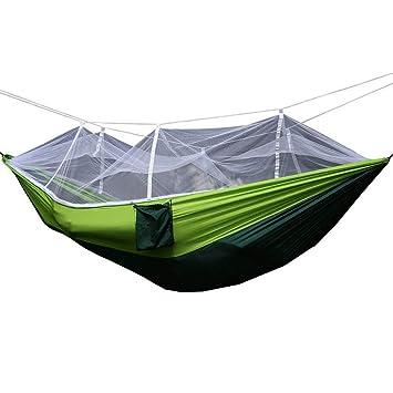 airand camping hamaca Ultra Ligera con mosquitera (260 x 140 cm, 400 kg de