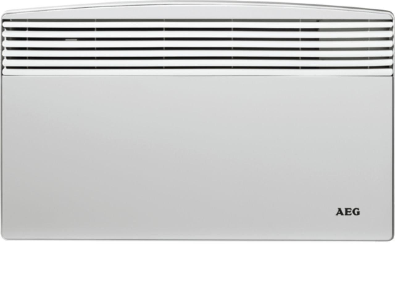 AEG 220997 WKL 753 S Wandkonvektor, Heizung 750 W für Bad, Hobbyraum, Gästezimmer, für ca. 7 m² EG Haustechnik