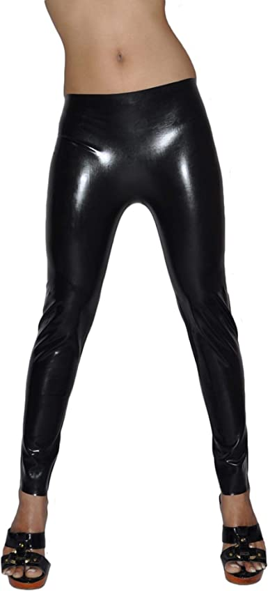 Latex Trousers Rubber Gummi Male Classic Jeans Wet Look Pants Customized 0.6mm