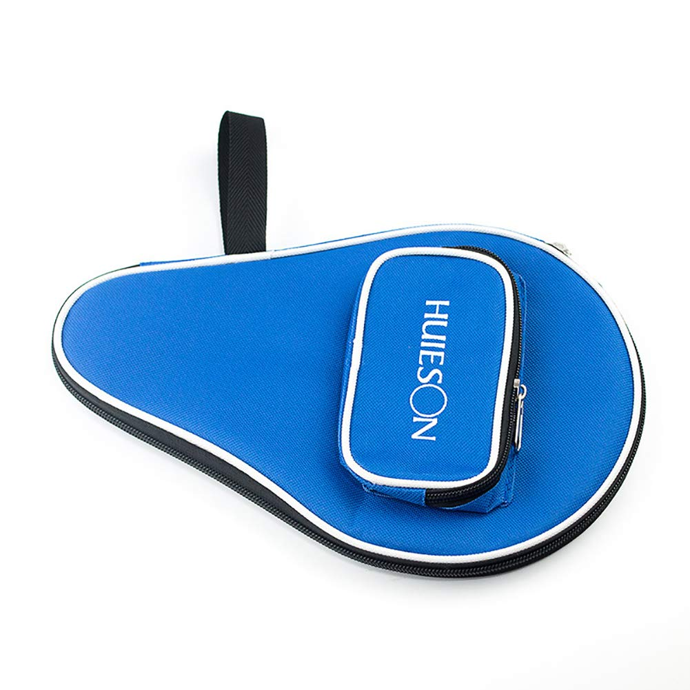 Blue LAPUTA Direct Table Tennis Professional Table Tennis Racket Case Cover for 1 Ping Pong Paddle Bat 3 Balls