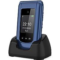 Teléfono Móvil Simple para Mayores con Teclas Grandes ácil de Usar Telefonos Basicos para Ancianos con SOS Botón…