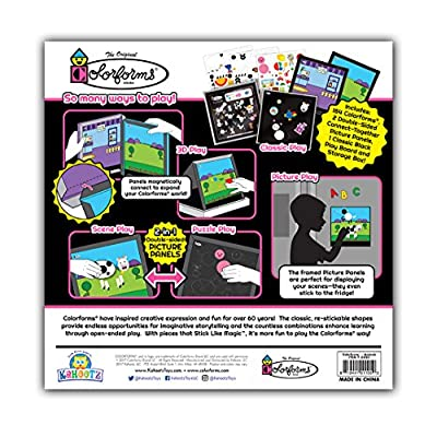 Colorforms Picture Panels Play Set - Animals: Toys & Games