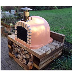 Easy diy wood fired pizza oven