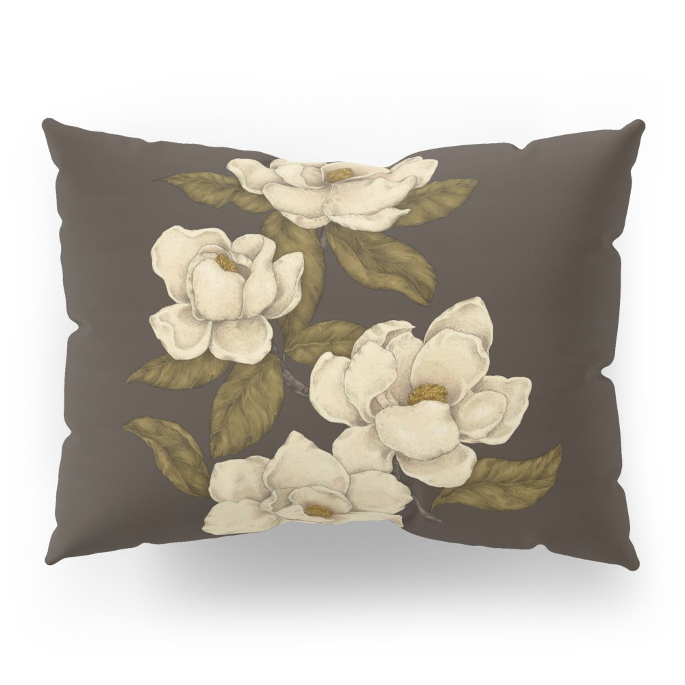 Society6 Magnolias Pillow Sham Standard (20'' x 26'') Set of 2