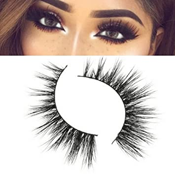 3aba411a9f0 Amazon.com : CARLI Mink Eyelashes by VAIN Beauty | Wispy Lashes | Reusable  : Beauty