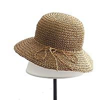 Ogquaton Sombrero de Paja Mujer Verano Sombrero