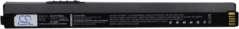 KML Battery for HP BT500 Bluetooth USB 2.0 Wireless Adapter Deskjet 460c Officejet H470 Mobile Printer Officejet H470 Deskjet 470 Deskjet 450wbt, Li-ion 11.10V 2300mAh / 25.53Wh