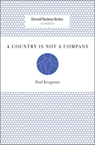 A Country Is Not a Company (Harvard Business Review Classics)