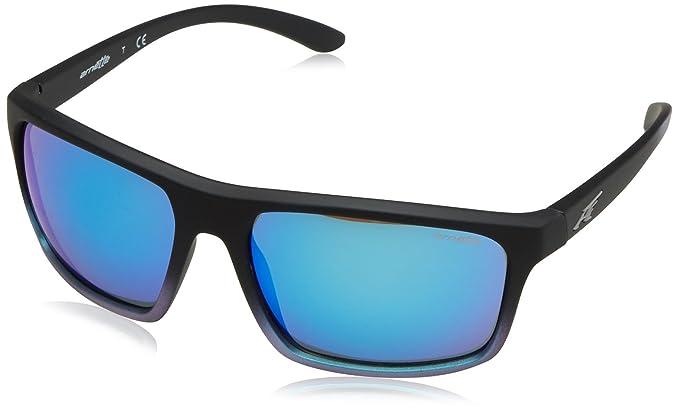 Arnette Sandbank, Gafas de Sol para Hombre, Black Grad Shot Blue, 61