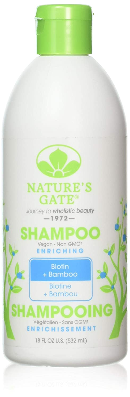 Nature's Gate Biotin and Bamboo Enriching Shampoo