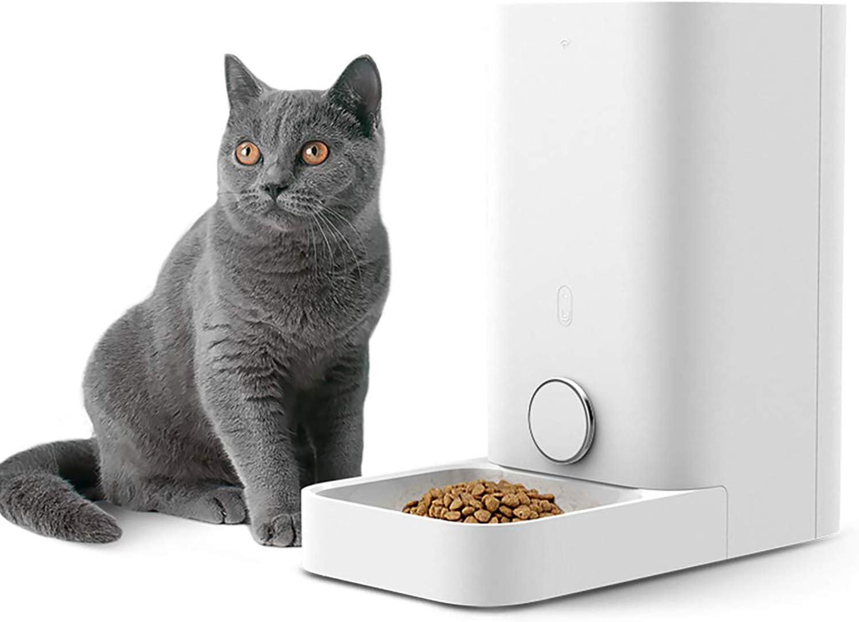 PETKIT Alimentador Inteligente para Perros y Gatos -Doble Fresco -Nunca Tarjeta -Gran Capacidad -Fácil de Limpiar (Mini 2,8 litros): Amazon.es: Productos para mascotas
