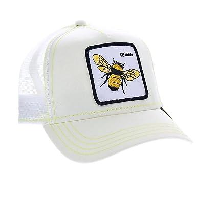09f02dfcc4e56e Goorin Bros. Queen Bee Baseball- / Trucker-Cap in white / weiß ...