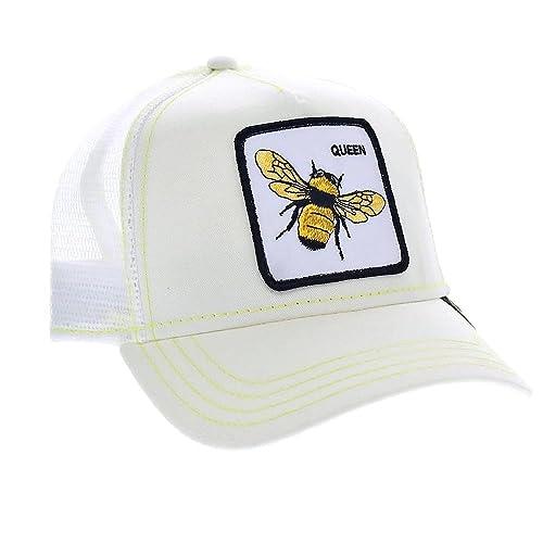 Gorra trucker blanca abeja Queen Bee de Goorin Bros. - Blanco 7e3f6644a75